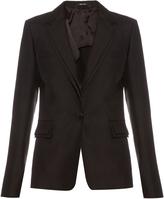 Maison Margiela Shantung-silk tailored blazer