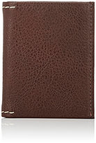 Barneys New York MEN'S VERTICAL BILLFOLD-BROWN