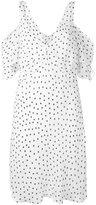 McQ by Alexander McQueen polka dot shift dress - women - Polyester - 42