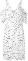 McQ by Alexander McQueen polka dot shift dress - women - Polyester - 44