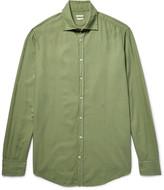 Massimo Alba - Genova Brushed Modal And Cotton-blend Shirt