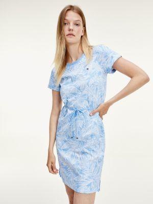 Tommy Hilfiger Palm Print T-Shirt Dress