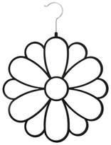 Joy Mangano Huggable Hangers® Fashion Flower Accessory Hanger in Black