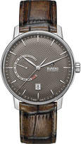 Rado R22878305 DiaMaster Power Reserve ceramic and leather watch