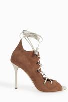 Malone Souliers Savannah Lace-Up Heels
