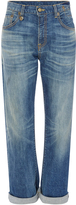 R 13 Catherine High Rise Boyfriend Jeans