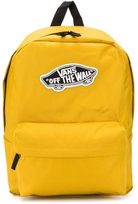 Vans Logo-Patch Backpack