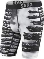 Saxx Mens Fuse Long Leg Boxers Underwear