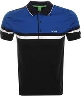 BOSS GREEN Paule 5 Polo T Shirt Black