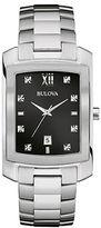 Bulova Stainless Steel and Diamond Watch, 96D125