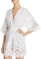 In Bloom by Jonquil Shiffli Cotton Wrap Robe