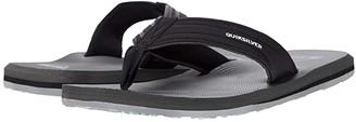 Quiksilver Crystal Oasis (Black/Grey/Black) Men's Sandals