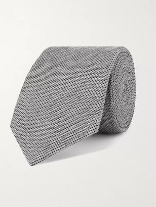 Canali 7.5cm Silk-Blend Jacquard Tie