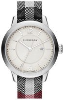 Burberry Check Strap Watch, 32mm