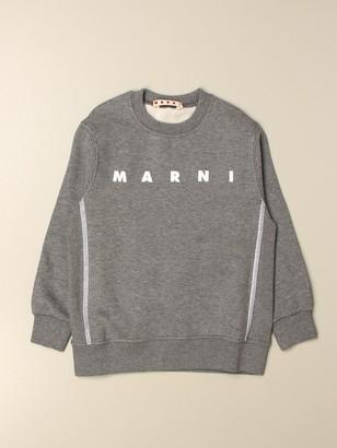 Marni Crewneck Sweatshirt With Logo