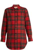 Burberry Srenton tartan wool shirt