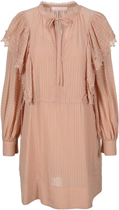See by Chloe Lace-trimmed Dress