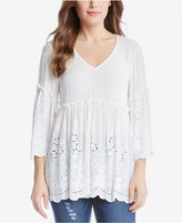 Karen Kane Embroidered Top