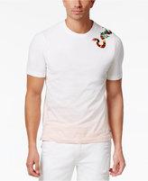 Sean John Men's Ombré Embroidered Snake Cotton T-Shirt