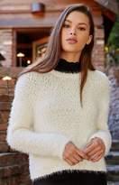 La Hearts Novelty Yarn Pullover Sweater