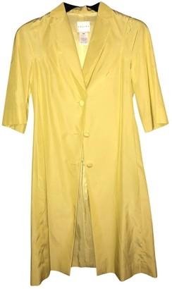 Celine Yellow Silk Coats