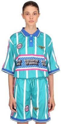 Kidsuper Studios Ksfc Striped Techno Home Soccer Jersey