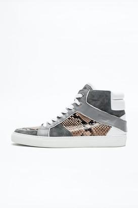 Zadig & Voltaire Zv1747 High Tone Men Sneakers
