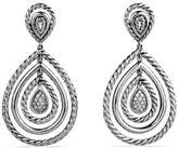 David Yurman Mobile Cable Drop Earrings With Diamonds