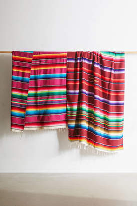 Urban Renewal Vintage One-Of-A-Kind Woven Beach Blanket