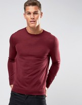 HUGO by Boss San Lorenzo Crew Sweater Merino