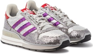 adidas ZX 500 sequined sneakers