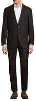 Isaia Welted Stripes Suit