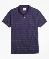 Brooks Brothers Anchor Stripe Polo Shirt