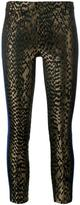 Haider Ackermann front animal printed trousers