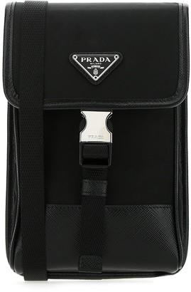 Prada Saffiano Smartphone Crossbody Bag