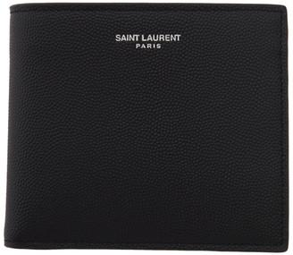 Saint Laurent Black East/West Wallet