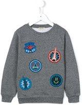 Kenzo badges sweatshirt
