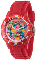 Sesame Street Unisex Red Strap Watch-Wss000006