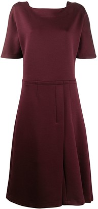 Marni Pleated Mid-Length Dress