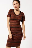 Azalea Striped Knit Dress