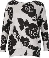 Izabel London Floral Print Sweat Top