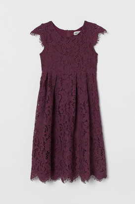 H&M Lace Dress - Red