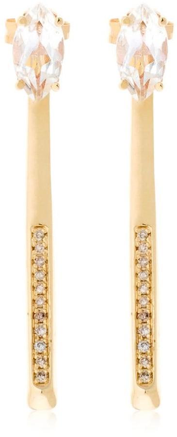 Bea Yuk Mui Bongiasca Giglio Tigre - Prosperity Gold Earrings