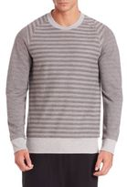2xist Striped French Terry Pullover