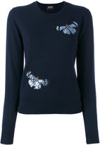 Markus Lupfer sequin sweater - women - Polyester/Merino - M