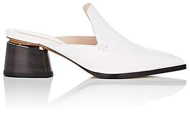 Nicholas Kirkwood Women's Beya Leather Mules - White