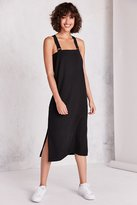 Silence & Noise Silence + Noise Straight-Neck Jumper Midi Dress