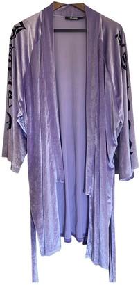 Jaded London Purple Velvet Jacket for Women