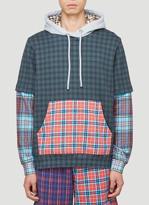 Burberry Patchwork Check Hoodie
