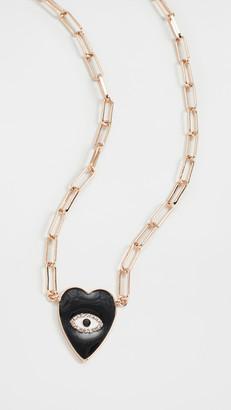 BaubleBar Noir Pendant Necklace
